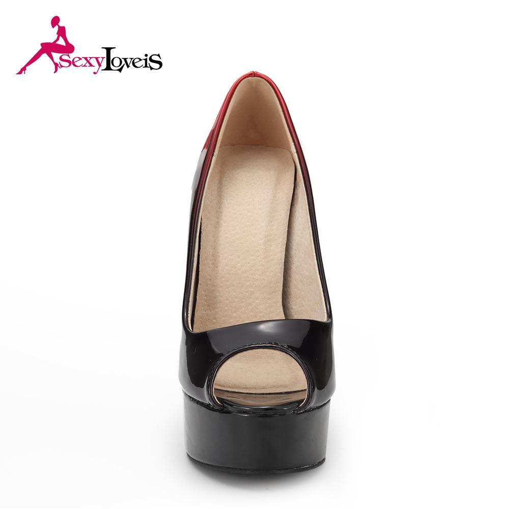 249489c11d98 Sex Heel Pump Shoes Women
