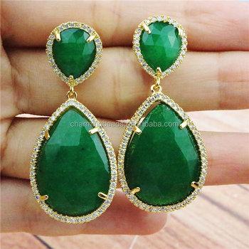 CH-MAE0037 Fashion jewelry CZ stud earring 1e59648f5e9c