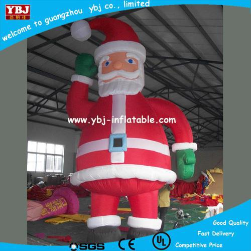 outdoor christmas decorations cute, giant cheap christmas inflatable santa