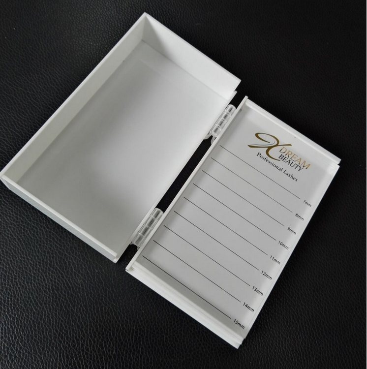 Environmental protection beautiful luxury packaging drawer shape eyelash box