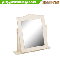 Bedroom Decor Dressing Table White Stand Mirror