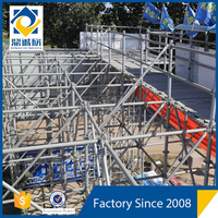 DX New Type!!! Hebei Renqiu Q345B Steel Quick Stage Ringlock Scaffolding for Construction