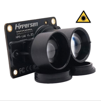 Drone AGV Laser Infrared Ranging Obstacle Avoidance ToF Time of Flight Measuring Sensor Trnasducer Hypersen HPS-166-L