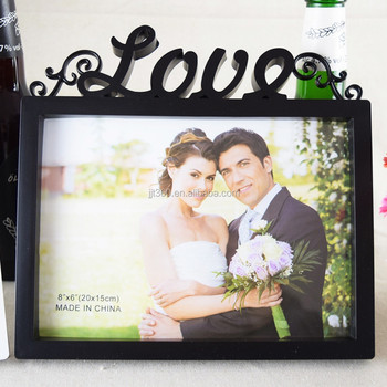 Big Wedding Photo Frame With Love Letter Buy Love Photo Frame