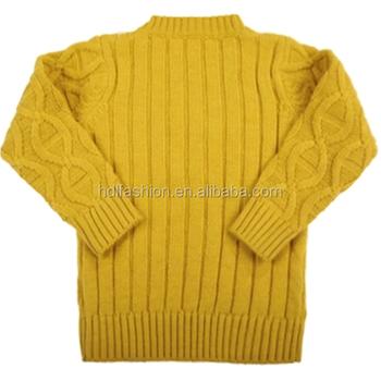 Wool Handmade Sweater Design For Children China Supplier