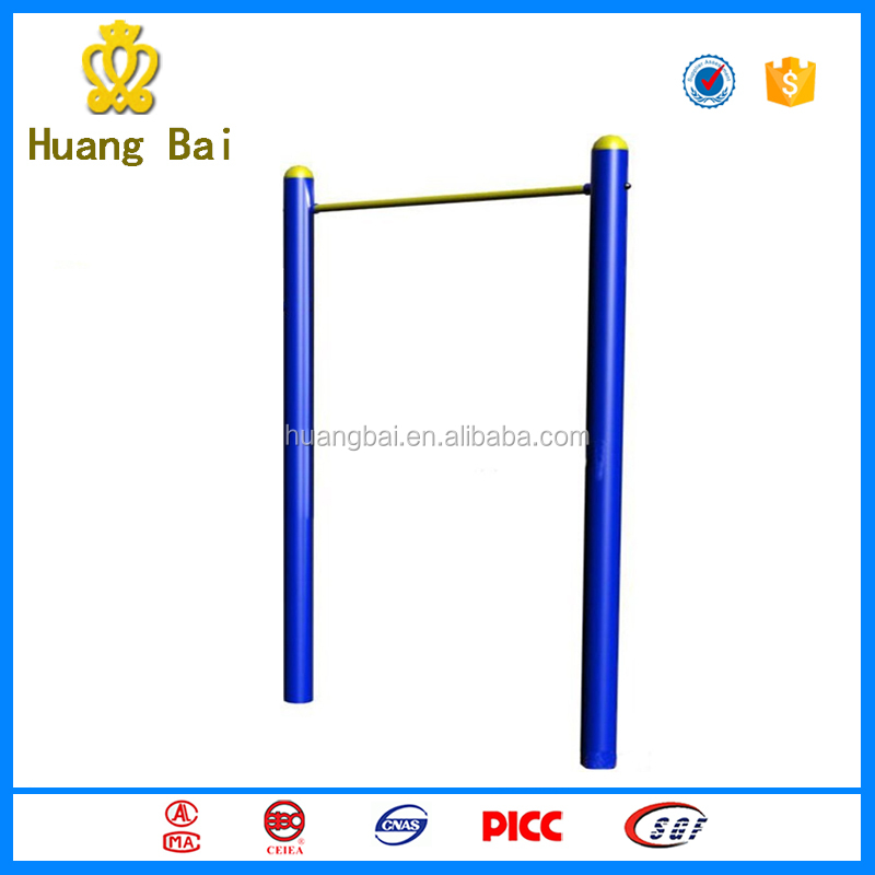 Outdoor Fitness Gymnastic Equipment Pull up Station Single Horizontal Bar