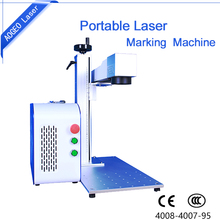 Sunglasses/pen of metal marking machine economical fiber/CO2 desktop laser marking machine widely used in customize