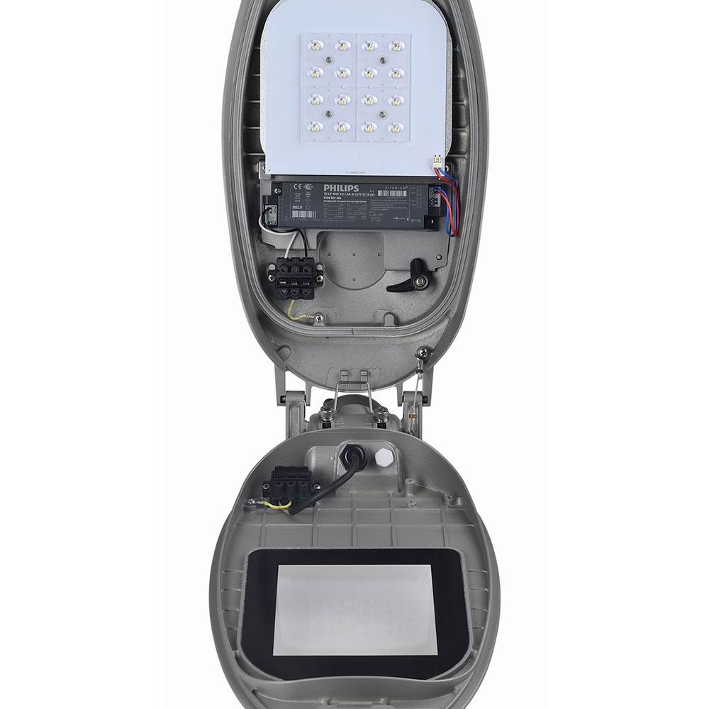 Kontak Venta caliente nuevo diseño IP66 20w 30w 40w 60w 80w 100w 120w 150w180w morir caso de aluminio led Luz de calle