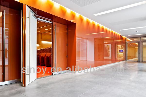 Ral 2001 Orange Classic Lacquered Glass Back Painted
