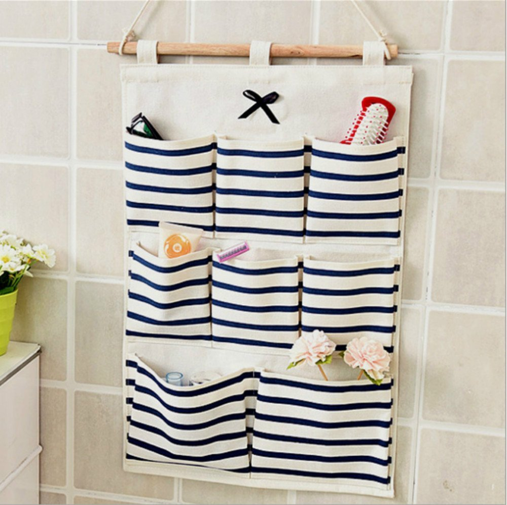 Get Quotations · Cute Butterfly Knot Pocket Fabric Hanging Bag Linen Cotton Fabric Wall Door Cloth Hanging Storage Bag  sc 1 st  Alibaba & Cheap Fabric Pocket Organizer find Fabric Pocket Organizer deals on ...