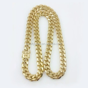 figaro solid yellow chains mens gold necklace dp chain figarucci mm inches