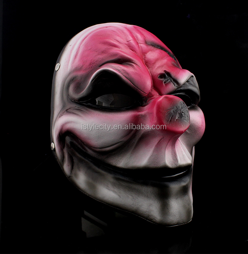 Halloween & Party Mask Grafitti Clown Payday 2 Cosplay Mask