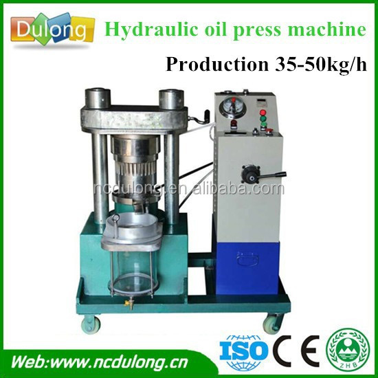 Industrial use DL-ZYJ02Y flax seed cold oil press machine