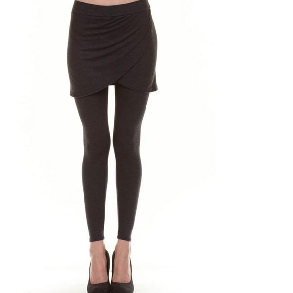 top quality custom design wholesale legging with skirt