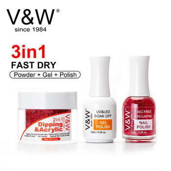 vw private brand acrylic dipping powder nails system non
