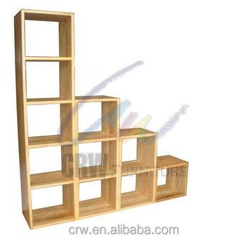 oa 4043 massief eiken kubus boekenkast houten meubels
