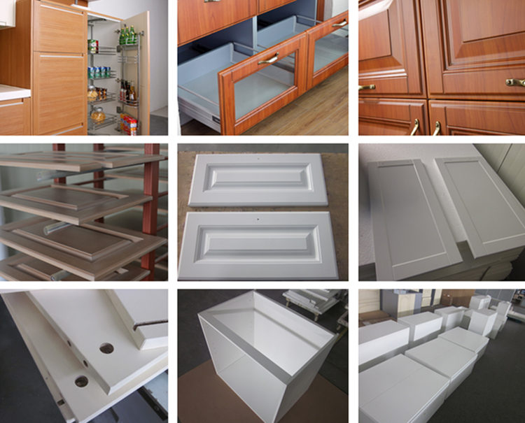 Water Resistant High Gloss White Kitchen Cabinet Pvc Edge Banding ...
