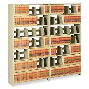 TNN1276ACSD - Tennsco Snap-Together Six-Shelf Closed Add-On