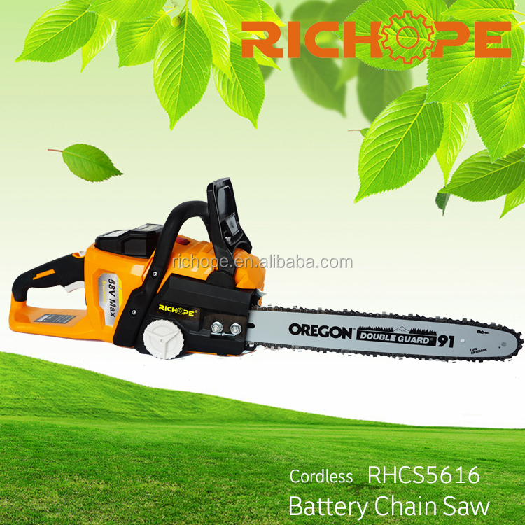 Cordless chain saw with 4AH battery power tools chainsaw