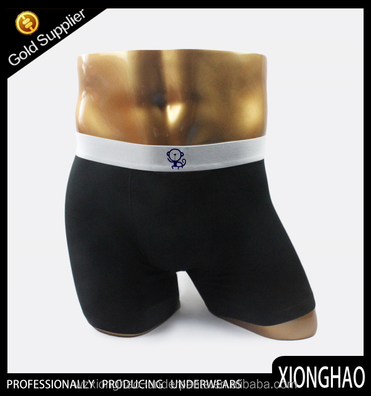 Manufacture supply various colors and various sizes 95% bamboo 5% spandex underwear mens briefs