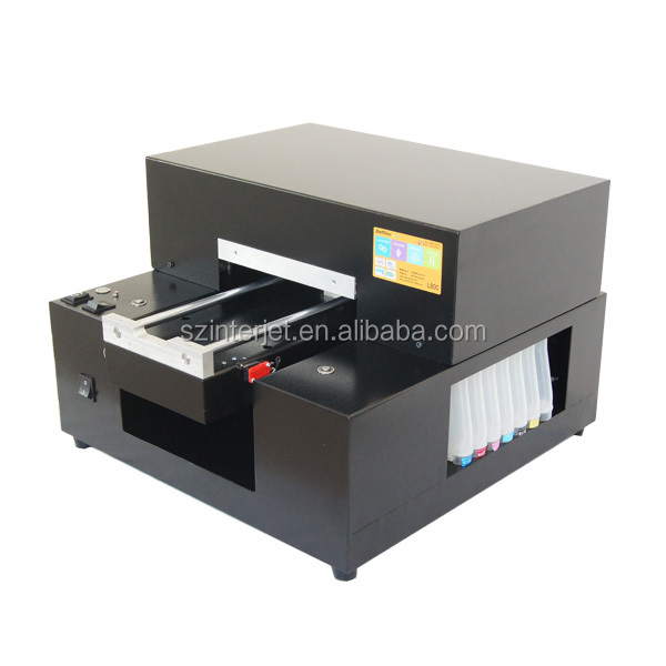 New A4 Size Flatbed Printer For Tpu,Abs,Pvc Material Phone Case ...