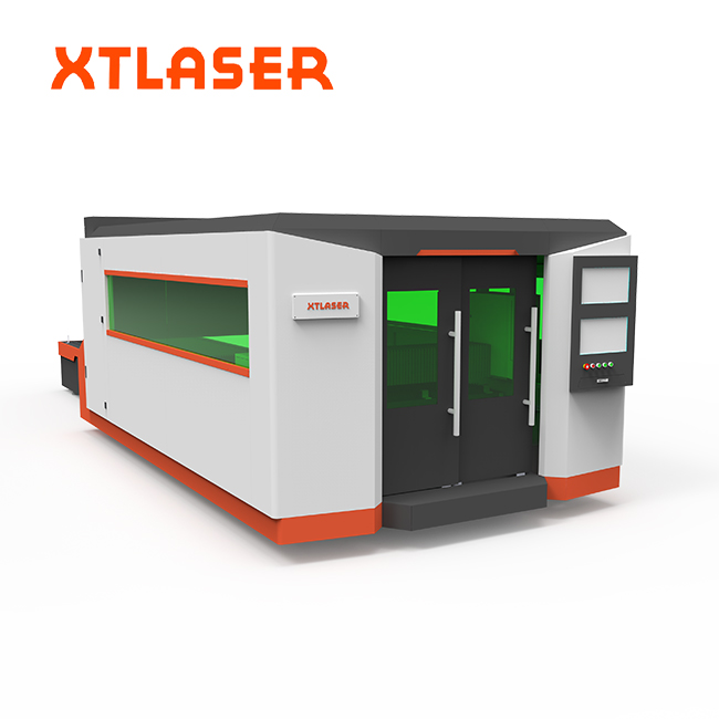 3mm stainless steel fiber laser cutting machine for furniture plate cutting 750w