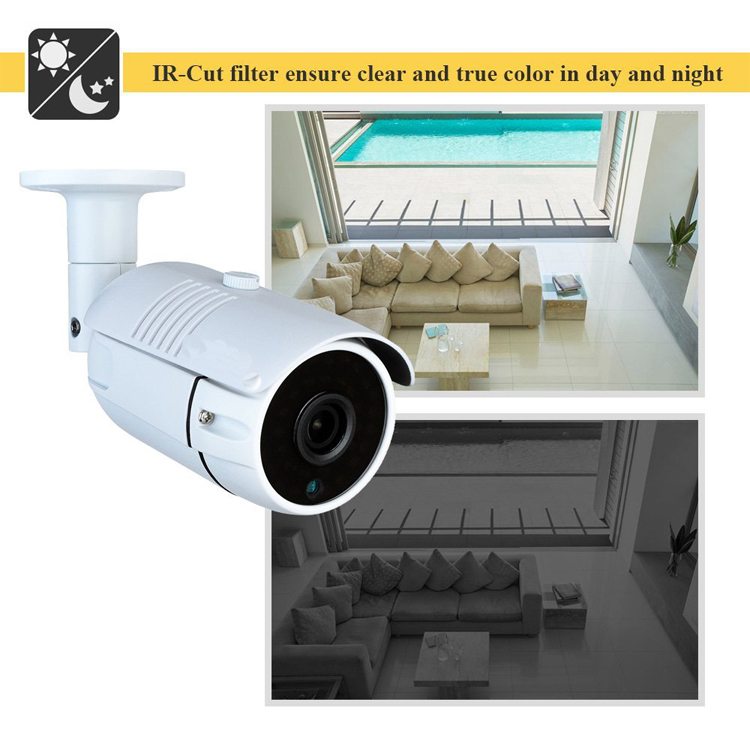 Home Security Motion Detection Infrared 2MP 1080P AHD CCTV Camera Specifications