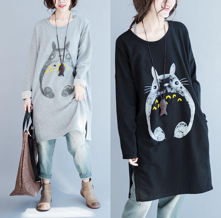 Cute Cartoon Animal Princess Totoro dress Anime Japan ...