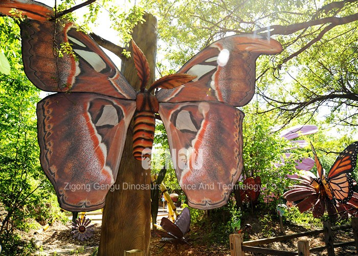 Animatronic 3D Model Simulation Animatronic Insect