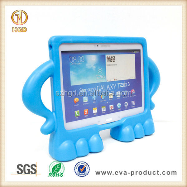 samsung kids tablet. childproof eva kids 10.1 inch handle tablet case for samsung galaxy tab 3