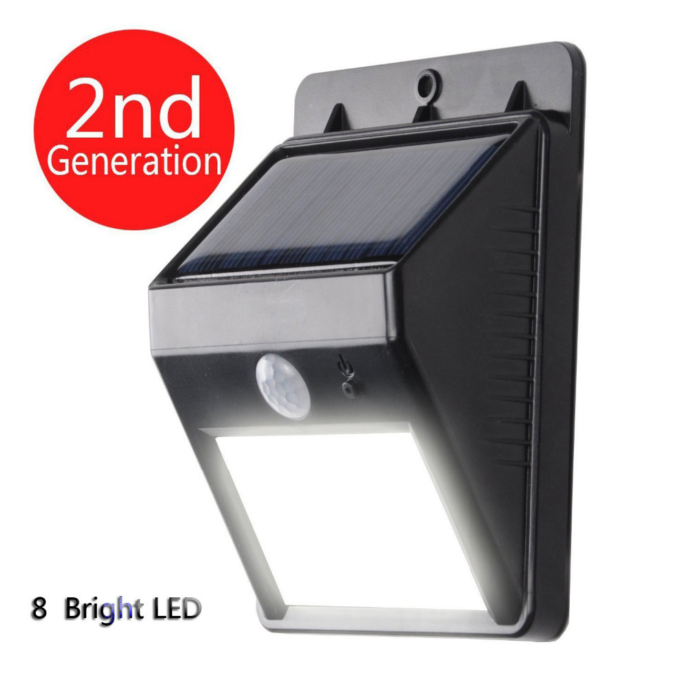 Bright Led Wireless Waterproof Solar Powered Motion Sensor Light Outdoor Solar Energy Welcome Light Nd on Heath Zenith Motion Sensor Wireless