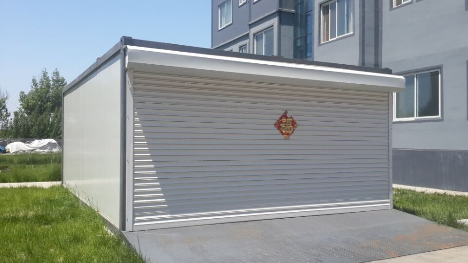 Container garage prefabricated fast install container garage