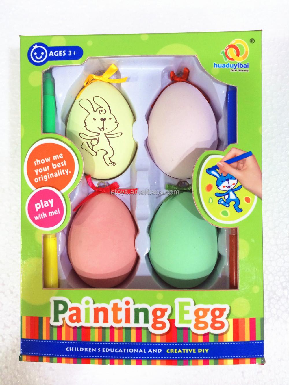 Painting Easter Eggs Diy Games For Kids - Buy Sugar Free Easter ...