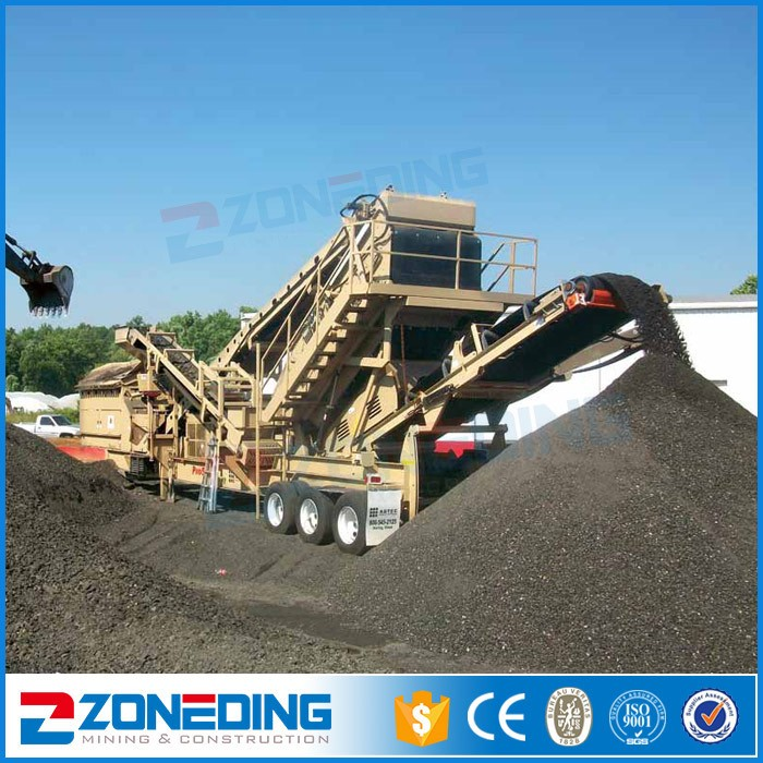 Stone quarry 200 tph cone crusher stone portable rock crusher plant for sale
