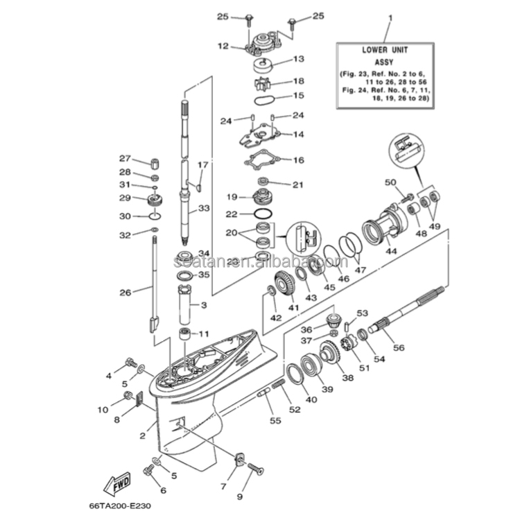Honda Lower Unit Diagram - wiring diagram on the net on