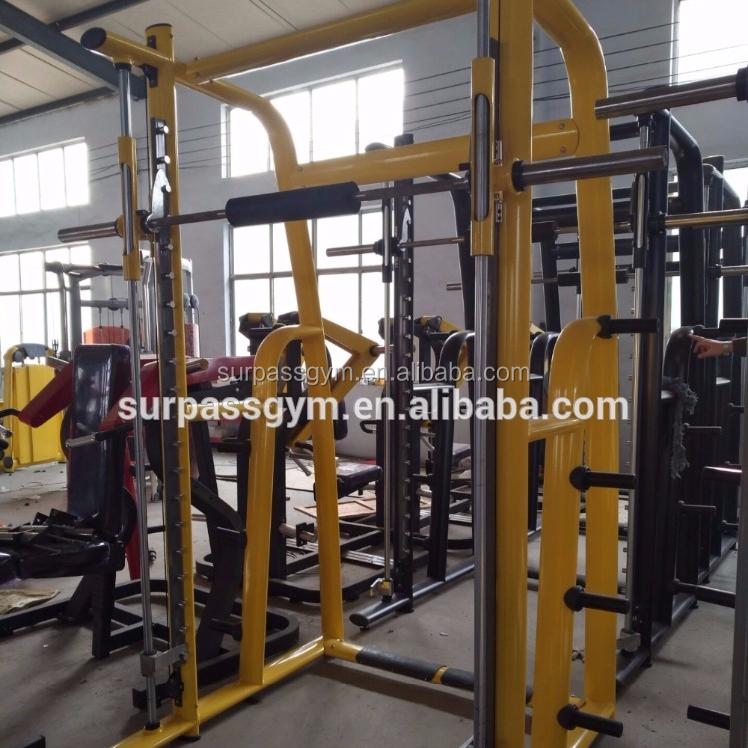 Sentadilla Rack Máquina Smith Tz-6017/grado Comercial Entrenamiento ...