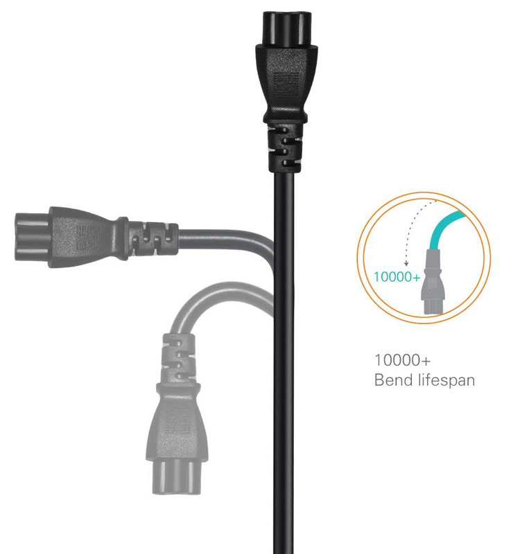 1.5 M PSE Vermeld 2 Prong Japanse AC Power Cord Kabel voor Laptop, Monitor