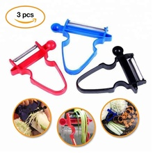 2018 New Magic Trio Peeler - Peel Anything In Seconds With The Amazing 3pc Peeler Set ( Set of 3 )