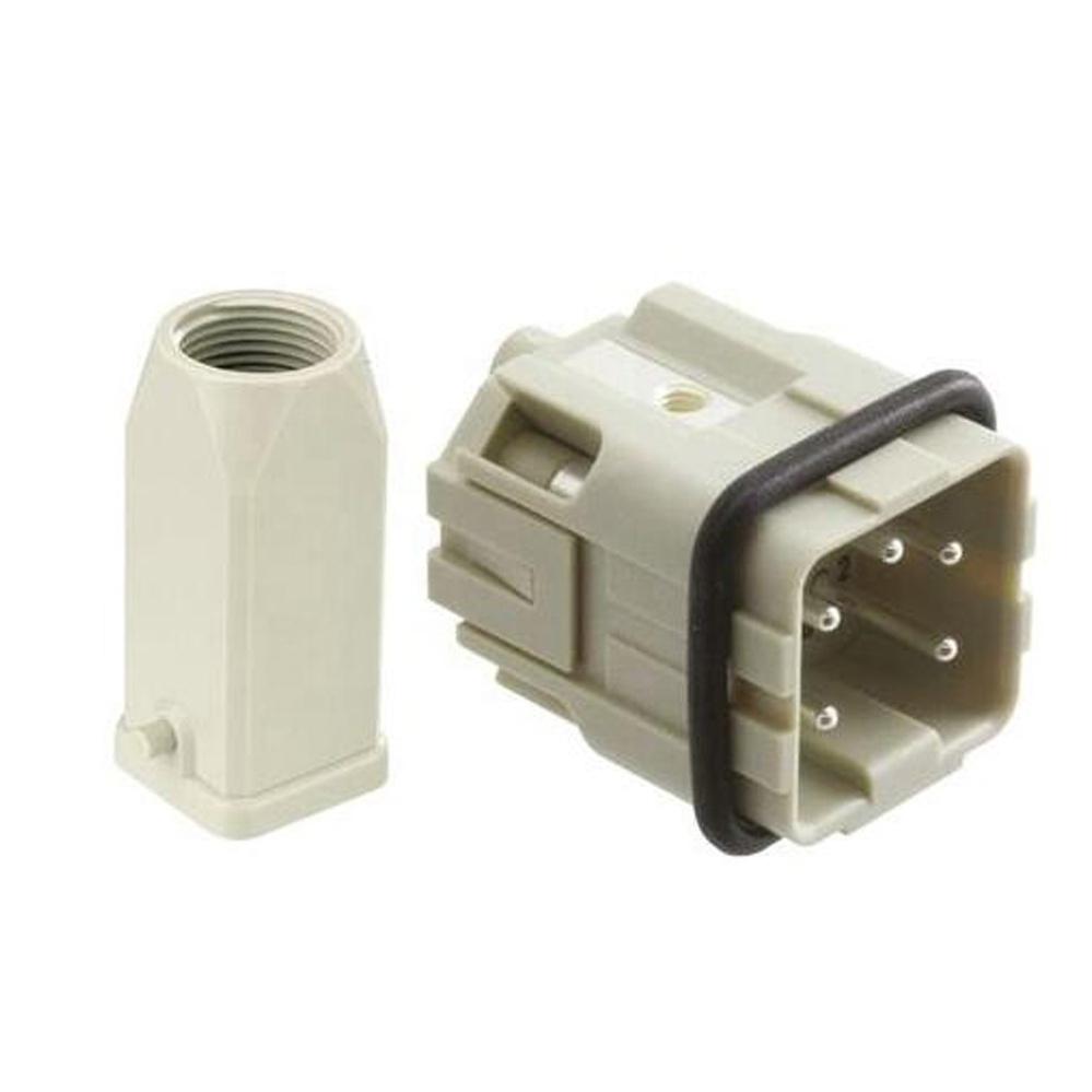 Heavy Duty Connector H3A-HA-003 3-Pin 3P Aviation Plug Male//Female 10A Top//Side