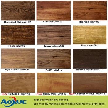 Wooden Vinyl Flooring Pvc Plank Lvt