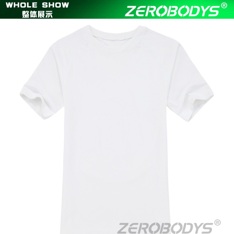 391 WH ZEROBODYS Outdoor Mens Body Shaper Quick Dry Short Sleeve Motocross Jersey Mma Rash Guard Running Quick Dry Shirt