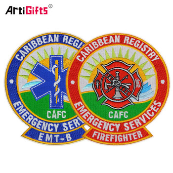 Latest Computer Embroidery Designs Clothing Patch Wholesale Cheap Custom Self-adhesive Embroidery Patch