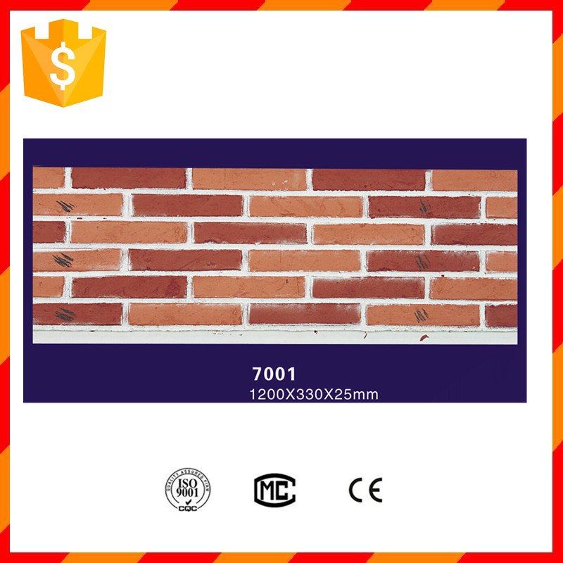 Factory price light weight durable exterior decorative brick wall panel