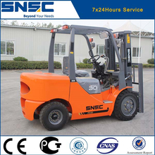 Algeria customer ordered 3 pcs 3 ton forklifts , SNSC brand
