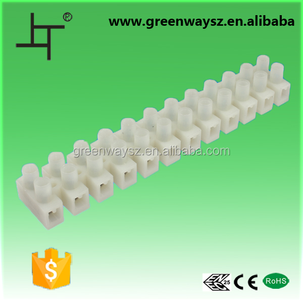 ul 94v-0 12 poles nylon power terminal block with best price