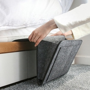 Felt Bedside Storage Organizer Caddy Bed Pockets Hanging Storage for Bedroom