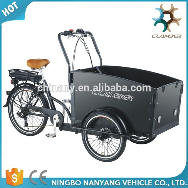 Electric 6 speed 3 wheel bicycle adult tricycle