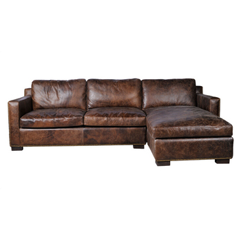 Rustic Sectional Corner Leather Sofa With Right Arm Chaise - Buy Sectional  Corner Sofa,Sectional Corner Leather Sofa,Rustic Sectional Corner Leather  ...