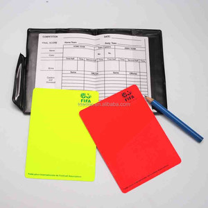 Soccer Football Referee Cards Wallet,Referee Wallet with Yellow and Red Warning Cards,football affiliate accessory and product