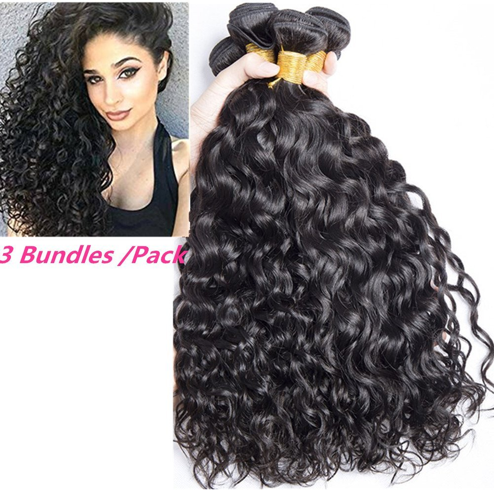 1a2050987e1d84 Get Quotations · YAMI 9a Two Tone Jerry Curl Ombre Hair Weaves Brown Color  1B 30 Brazilian Human Hair